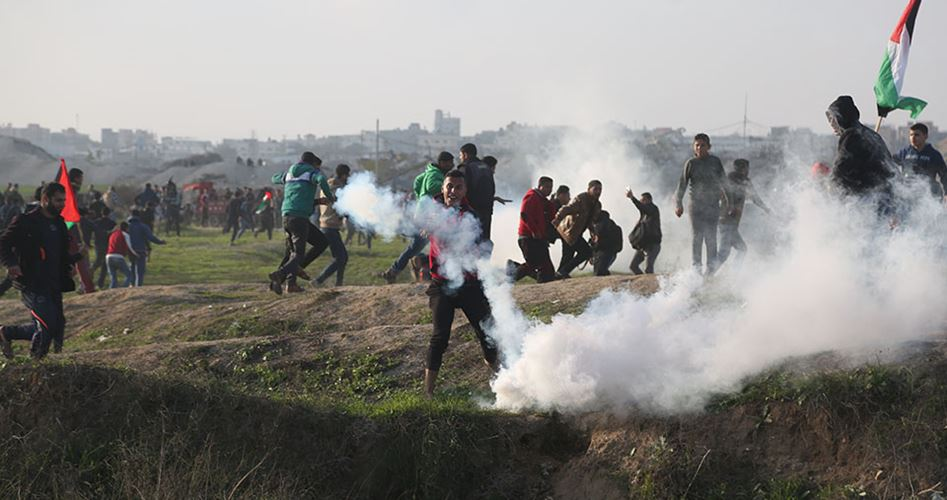 Israel uses new weapons to disperse Palestinian protesters