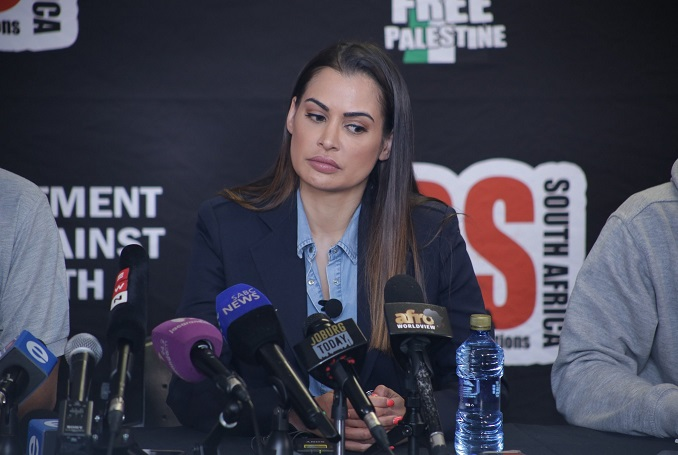 South African's Model, Shashi Naidoo Apologizes, Announces Trip to Palestine