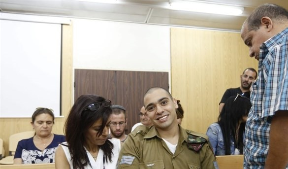 Elor Azarya released from prison on 4-day furlough for Rosh Hashanah