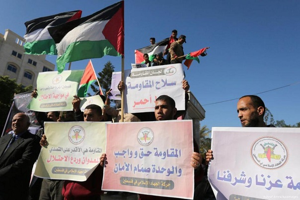 Gaza rallies in support of reconciliation