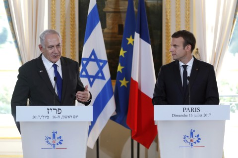 France urges for continuing Israel-Palestine peace talks