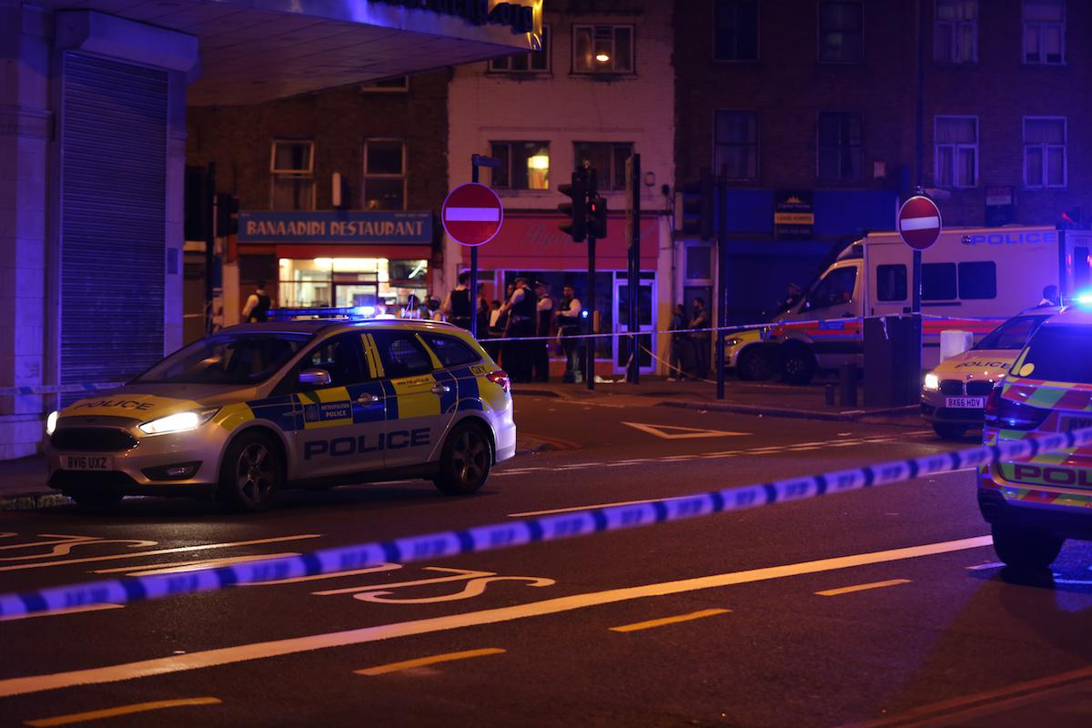 Worshippers hit by van at London mosque in terror attack