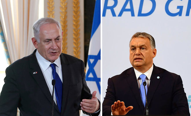 Meeting of minds as Netanyahu visits Hungary's Orban