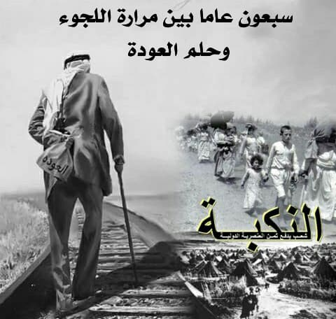 The Nakba's 70th Year