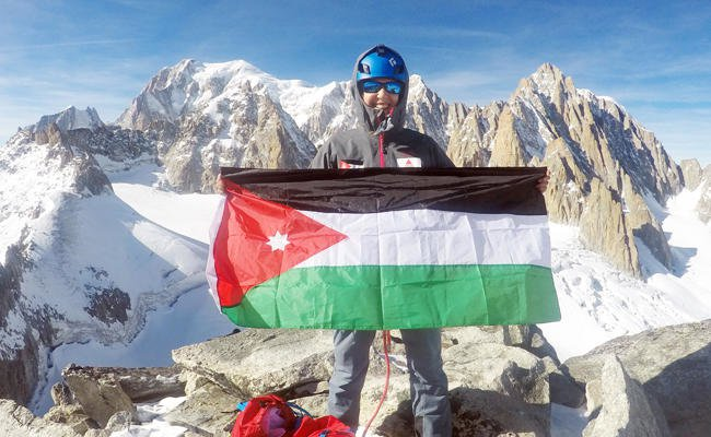 Sky is the limit for Jordanian mountaineer who is helping Arab women reach new heights