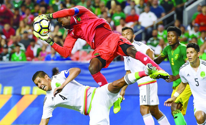 Jamaica hold Mexico goalless in Gold Cup