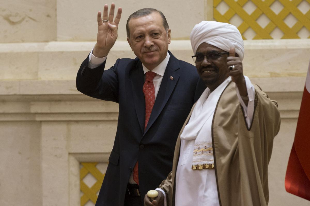 Potential joint defense agreement between Sudan and Turkey
