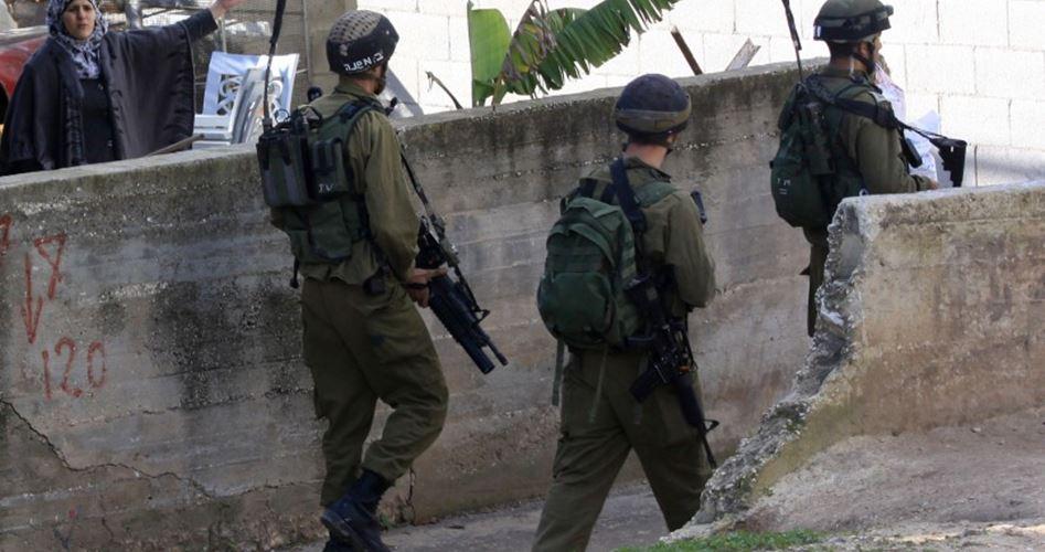 IOF seals Palestinian house in Jenin with concrete